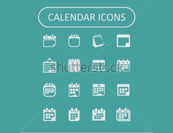 super cool calendar icons download