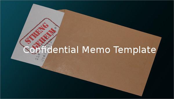 confidentialmemotemplate