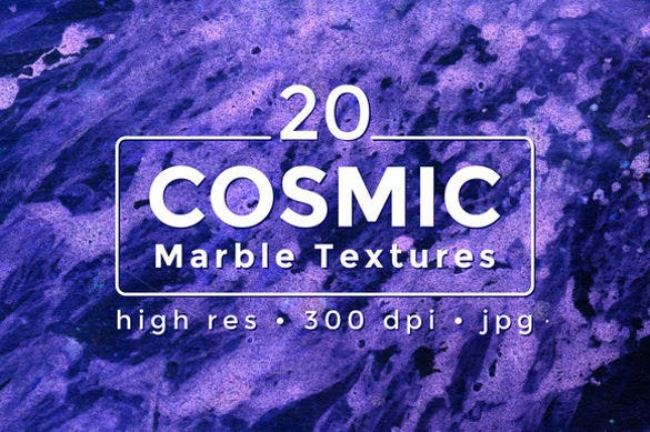 20 beautiful cosmic marble textures download