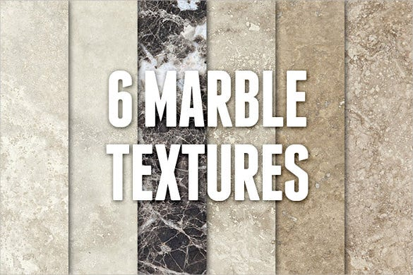 6 high resolution marble textures pack download