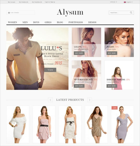clothing responsive woocommerce theme 39