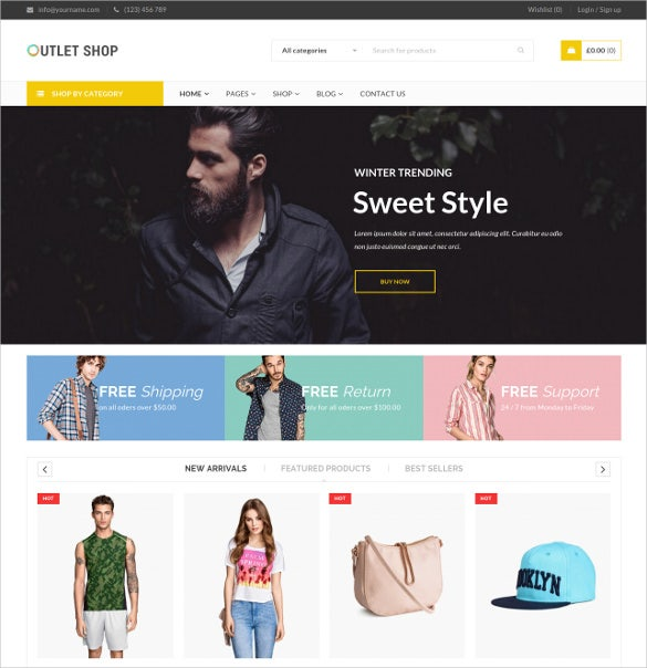 online store woocommerce theme 46