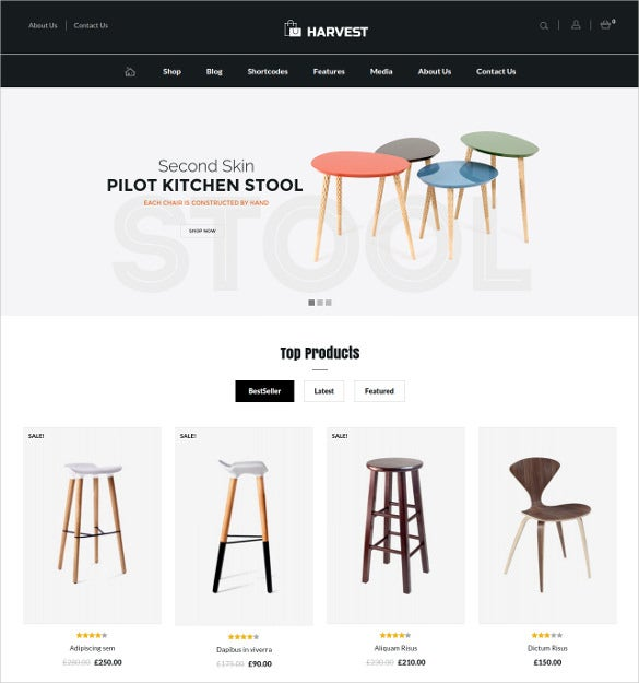 furniture multipurpose woocommerce theme 591