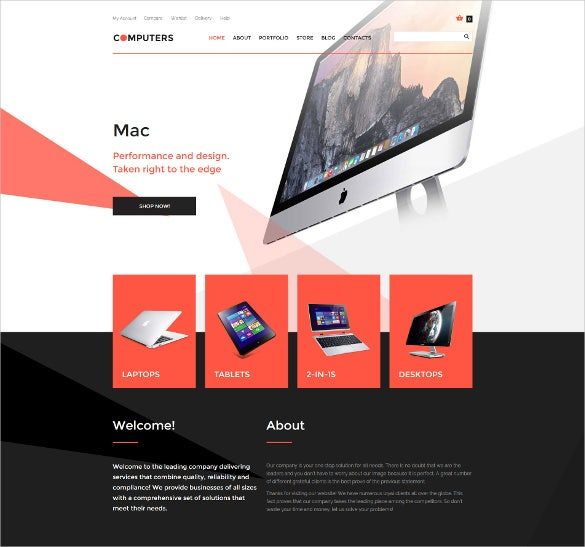 computer hardware woocommerce theme 114