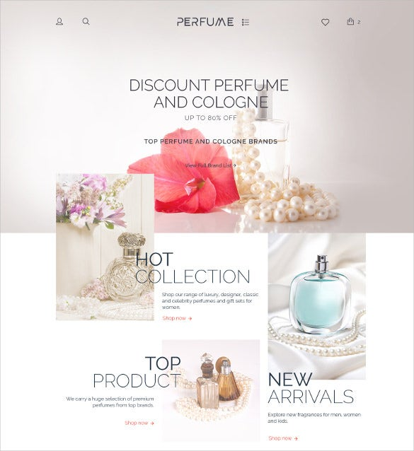 hot perfume shop woocommerce theme 114