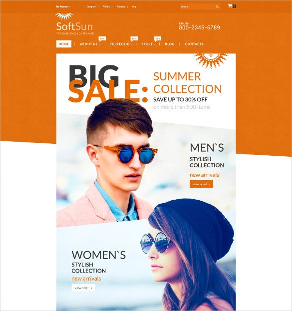 summer collection woocommerce theme 114