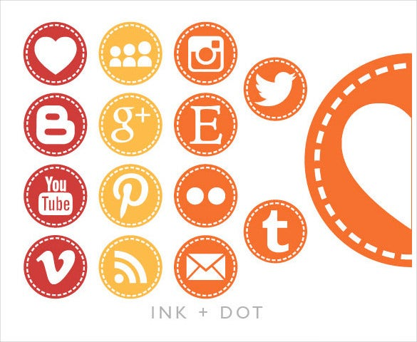 135 stitch social media buttons download