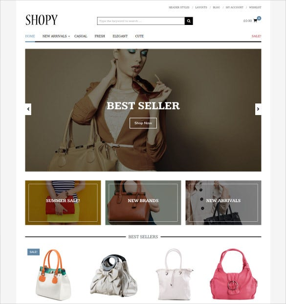 shoping responsive woocommerce theme 39