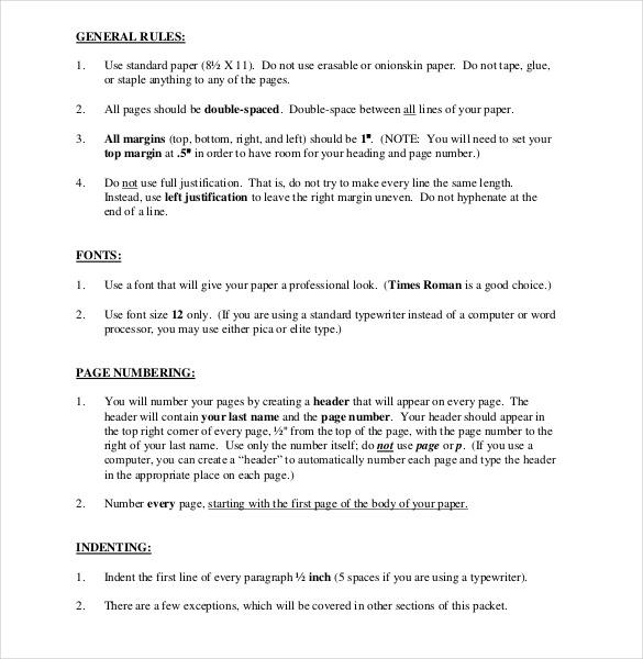 modern language assosciation handbook cover sheet download