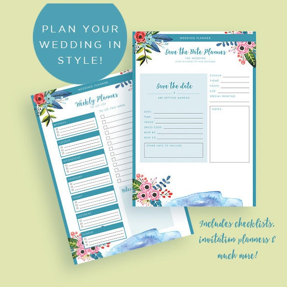easy to download wedding planner book