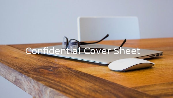 confidential cover sheet