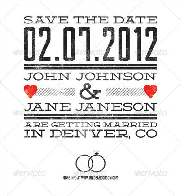 editable wedding announcement template