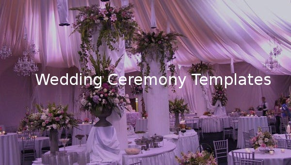 weddingceremonytemplate
