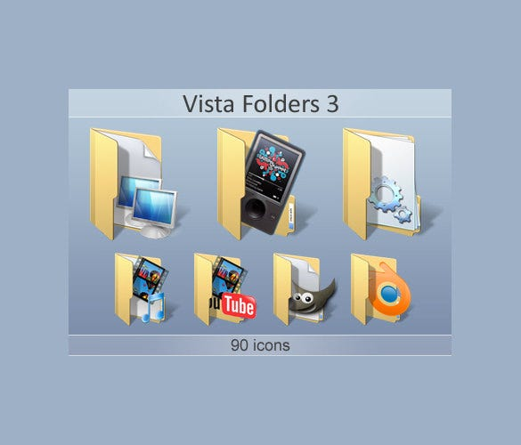 vista folders icon set download