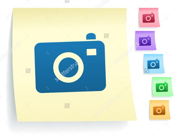 paper camera icons