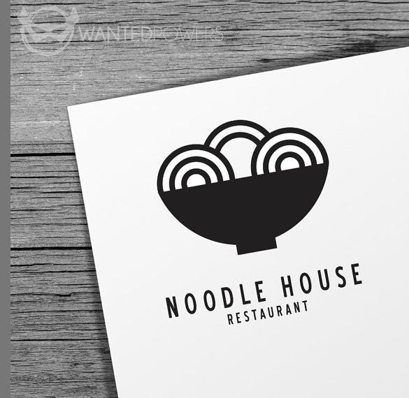 noodle houde restaurant logo download