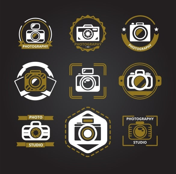 graphical camera icons bundle