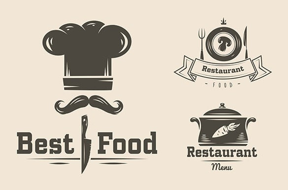 best food restaurant logo download