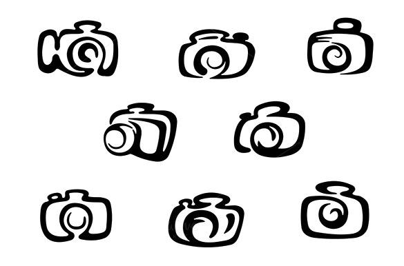 plain camera icons