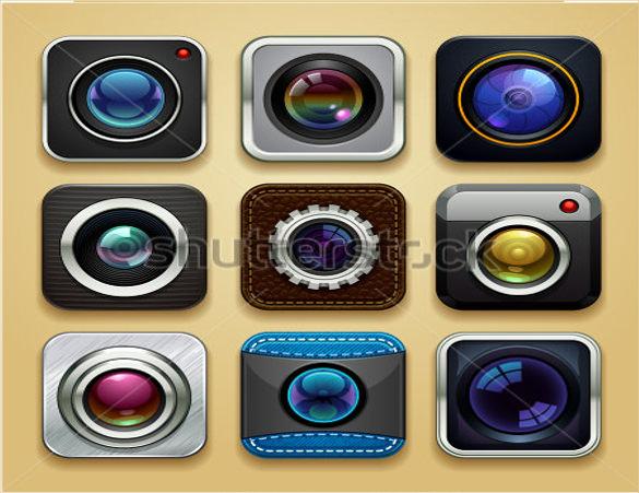 background camera icons