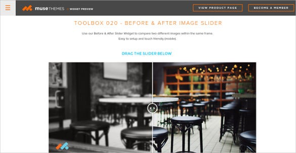 free image slider muse theme