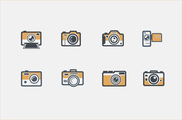 cute camera icons download