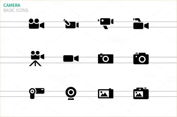 basic camera icons download