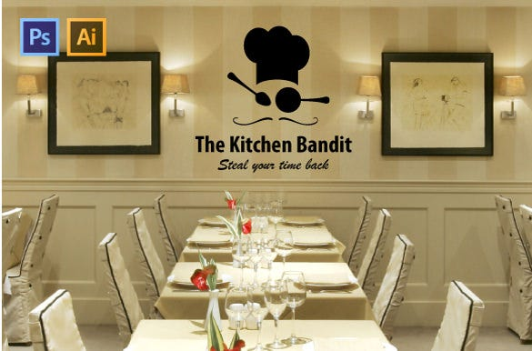 stylish restaurant logo download