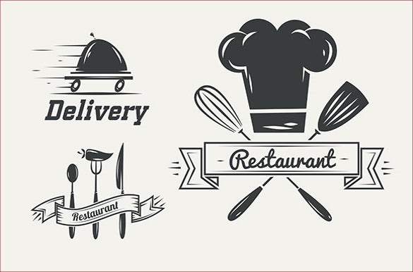 funny vintage restaurant logos download
