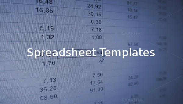spreadsheettemplate