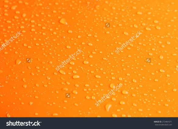 orange colored water texture