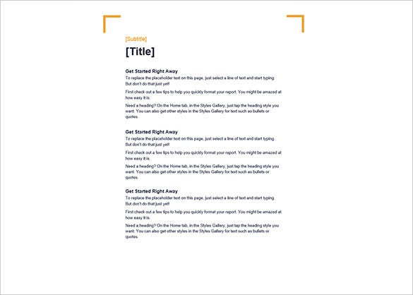 Crop Design Blank Word Free Template  Blank Document Free