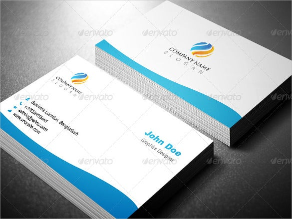 Cheap Business Cards Free PSD AI Vector EPS Format - Professional business card templates