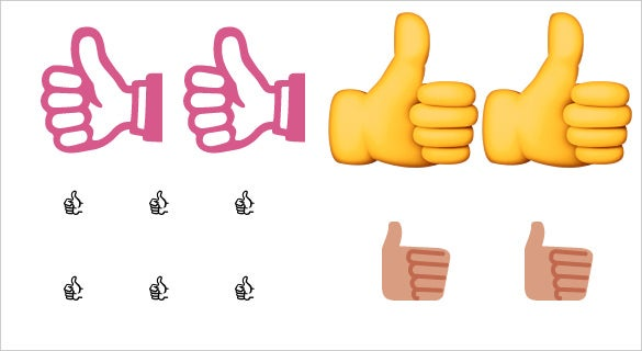 download thumbs up sign emoji for chatting