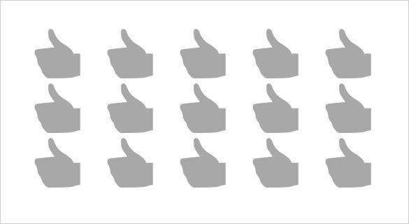 thumbs up sign emoji on microsoft windows 10