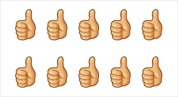 21+ Bring out the Optimism in you with the Thumbs up Emoji