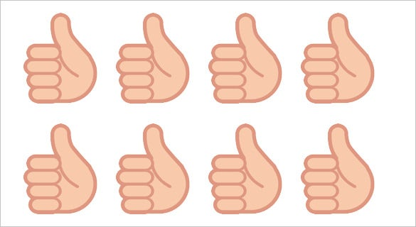 free thumbs up emoji sign on htc sense 7