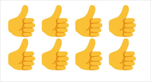 download thumbs up sign emoji on google android
