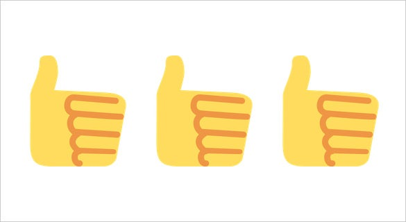 thumbs up emoji sign on twitter download