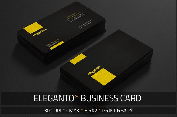 eleganto business card download