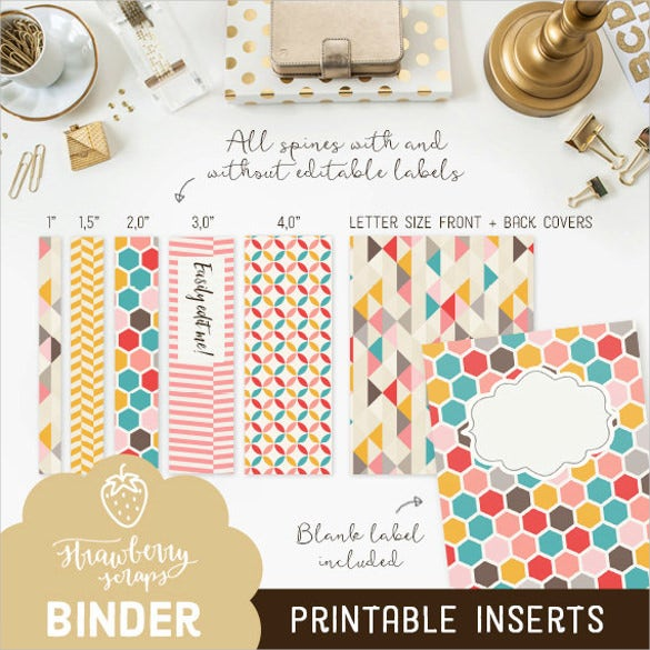 printable binder cover sheet download