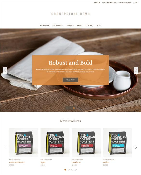 responsive ecommerce website template