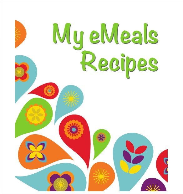 meal recipe binder cover sheet pdf download