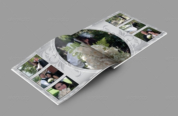 Elegant Wedding Album Template For Download  Free Album Templates