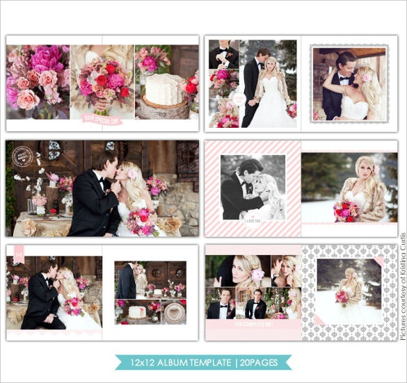 Captivating Simple Wedding Album Design Template Regard To Free Album Templates