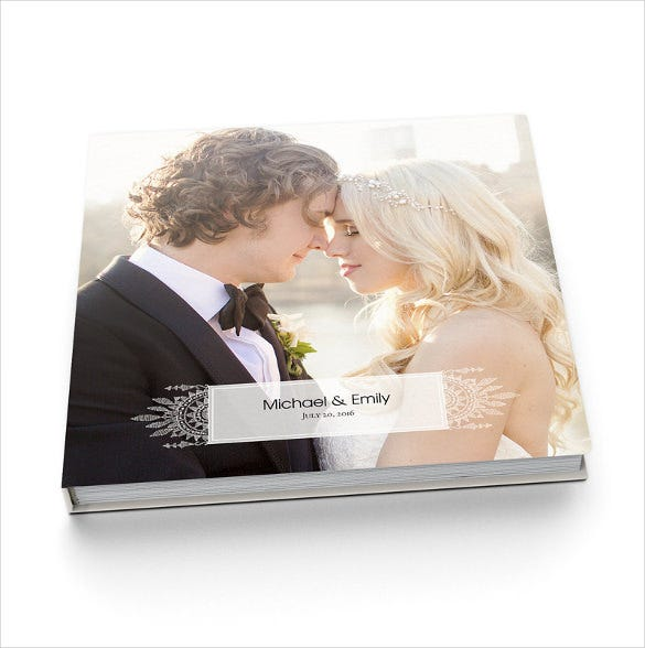wedding album cover design download