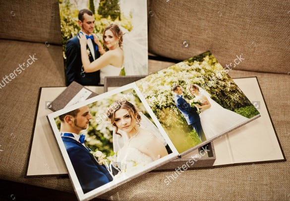 easy to print wedding album design download