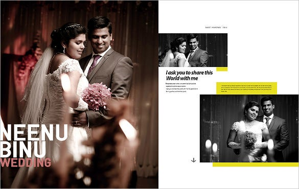 attractive wedding album layout for download