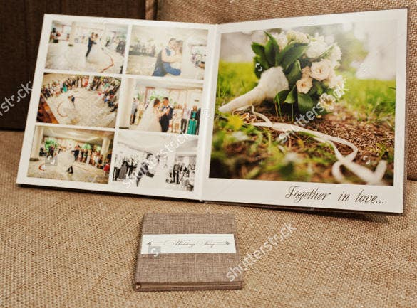 wedding album layout for download