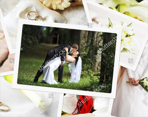 thematic wedding album design for download